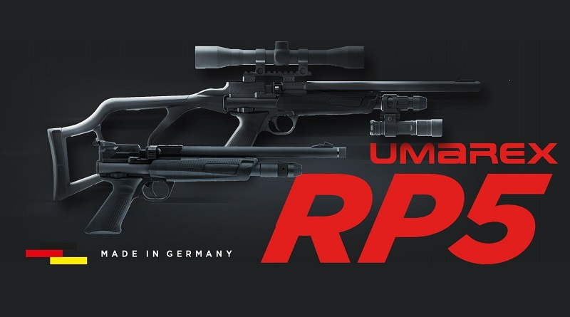 Új CO2 légfegyver: Umarex RP5