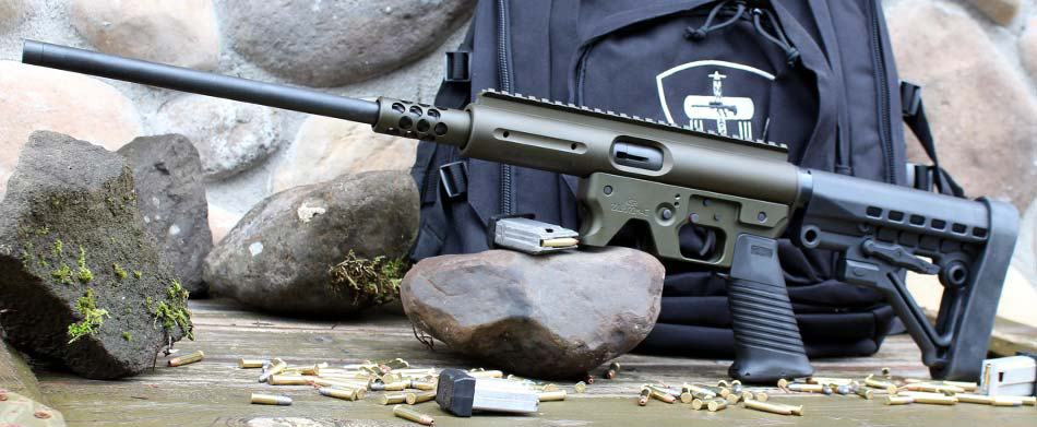Aero Survival .22 Magnum öntöltő karabély